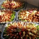 Fleischspießchen-Finger Food