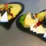 Käseplatten mit Liebe zubereitet